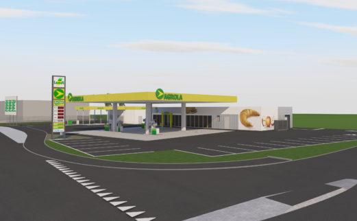 Neubau Shop Landi Zofingen