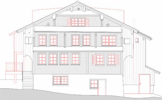 Umbau Bauernhaus Sattel