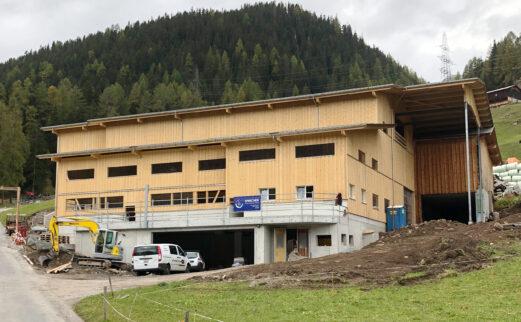 Abbruch und Neubau Milchviehstall Glaris