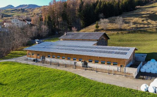 An- und Umbau Milchviehstall, Vella
