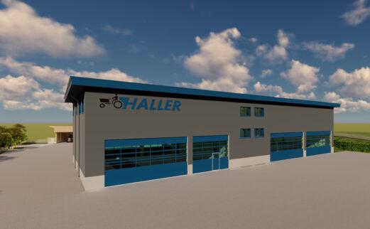 R. +M. Haller GmbH Birrhard Geschäftshaus