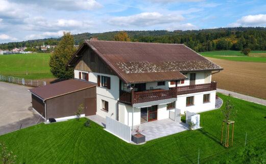 An- und Umbau Einliegerwohnung, Fislisbach