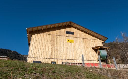 An- und Umbau Milchviehstall, Rabius