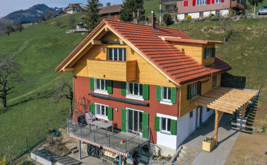 Einbau Wohnung in best. Estrich, Schwyz