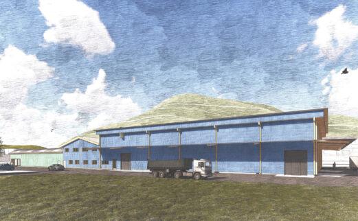Umbau und Erweiterung, LANDI Wasserschloss Genossenschaft, Gebenstorf