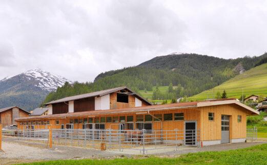 Pferdestall Madulain