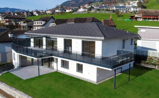 Umbau und Aufstockung EFH, Schwyz