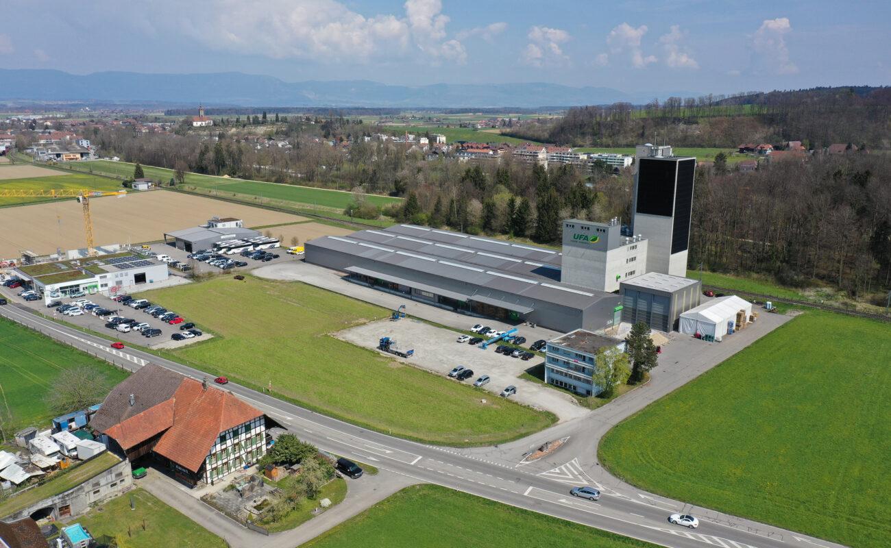 LANDI KoWy Genossenschaft, Verkaufsladen und Leistungszentrum Pflanzenbau, Lyssac