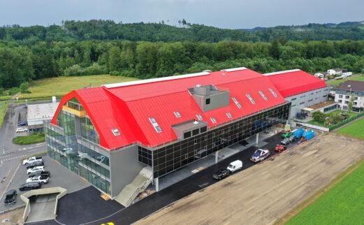Vogel's Offroads AG, Dachkonstruktion, Lyssach