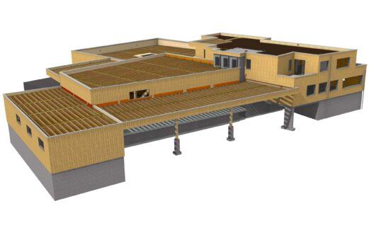 Kündig Baumschulen AG, Logistikgebäude, Ibach